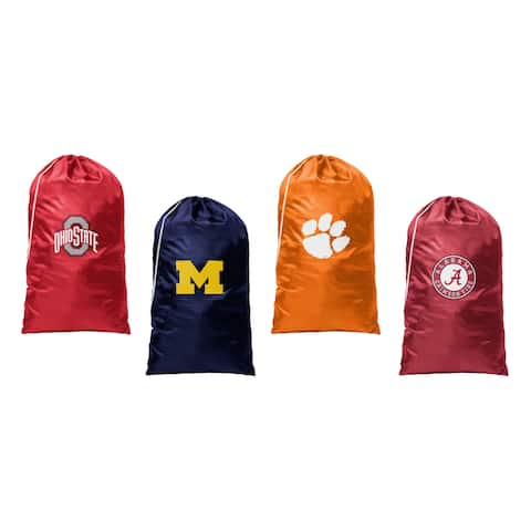 NCAA Teams Logo Sports Fans Laundry Clothes Gym Bags