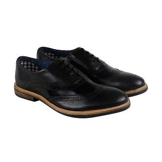 Ben Sherman Birk Wingtip Mens Black Leather Casual Dress Oxfords Shoes|https://ak1.ostkcdn.com/images/products/is/images/direct/18844f5a3bd345c8c7617c9d5f1173da6b38c827/Ben-Sherman-Birk-Wingtip-Mens-Black-Patent-Leather-Casual-Dress-Oxfords-Shoes.jpg?impolicy=medium