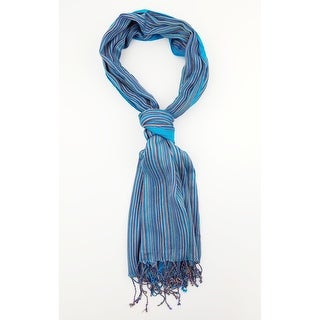 Link to Women Multi Color Lightweight Stripes Oblong Scarf With Tassels Fall Winter School Warm College Fashion Scarves - 5 - M Similar Items in Scarves & Wraps