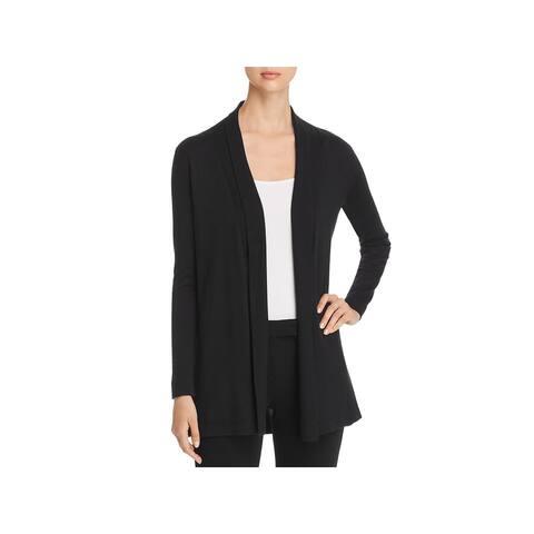 Elie Tahari Womens Cardigan Sweater Wool Open Front - L