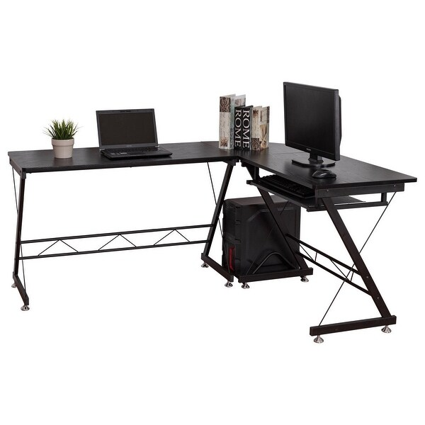 Shop Gymax L Shape Computer Desk Home Office Furniture Corner