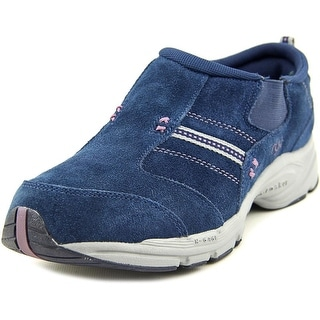 Ryka Rocker Women Round Toe Suede Blue Walking Shoe