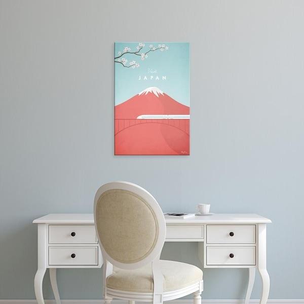 Easy Art Prints Henry Rivers's 'Japan' Premium Canvas Art