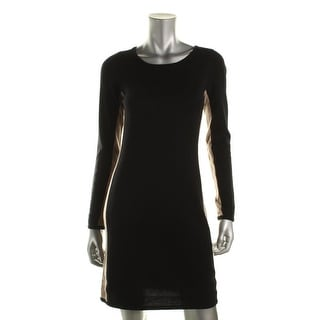 Hayden Womens Sweaterdress Cashmere Colorblock - s
