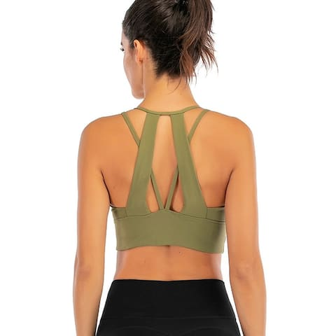 2020 New Women's Yoga Sports Bra