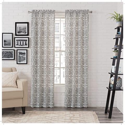 Gracewood Hollow Dumas Window Curtain Panel Pair