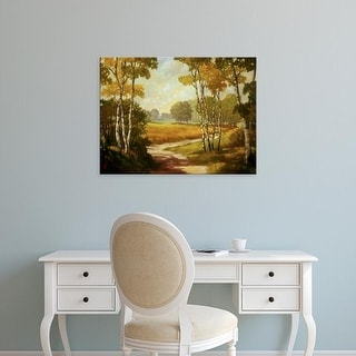 Easy Art Prints Graham Reynolds's 'Country Walk I' Premium Canvas Art