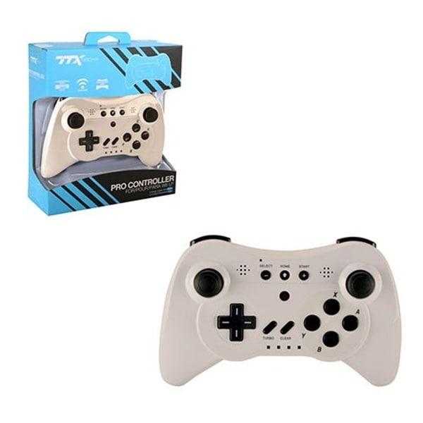 TTX TECH White Wireless Controller for Nintendo Wii U Pro