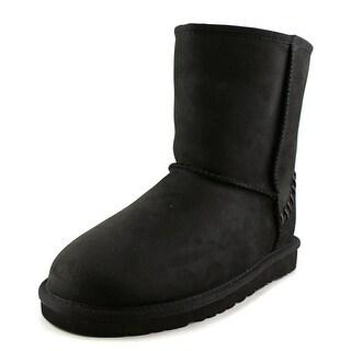 Ugg Australia Classic Round Toe Suede Winter Boot