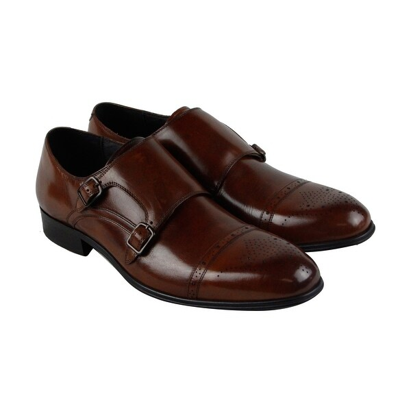 Kenneth Cole New York Design 10284 Mens Brown Casual Dress Oxfords Shoes