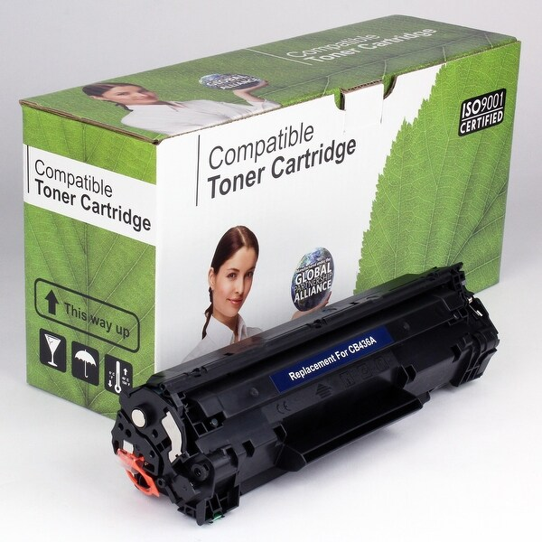Value Brand replacement for HP 36A CB436A Toner (2,000 Yield)