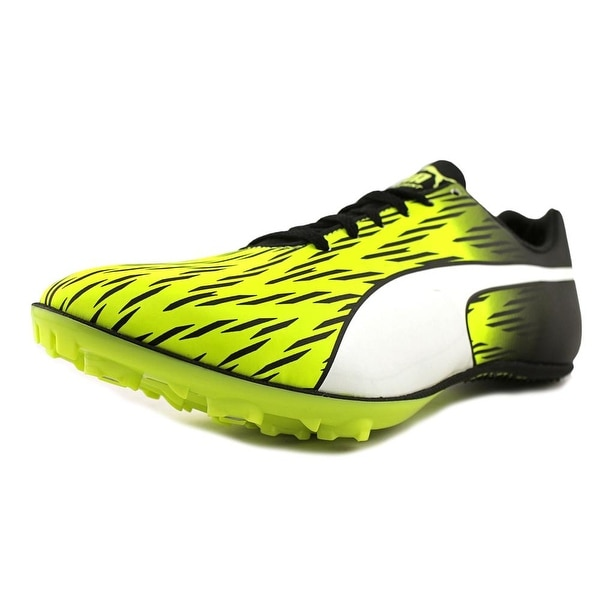 Puma evoSPEED Sprint 7 Men Safety Yellow-Black-White Running Shoes