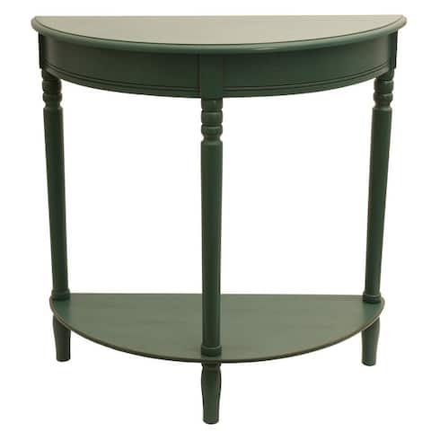 Copper Grove Parnasuss Half Round Table