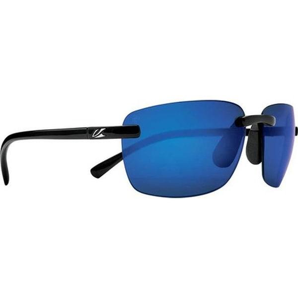 e0435e5050 Shop Kaenon Coto Polarized Sunglasses Black Pacific Blue Mirror - US One  Size (Size None) - On Sale - Free Shipping Today - Overstock - 22205733