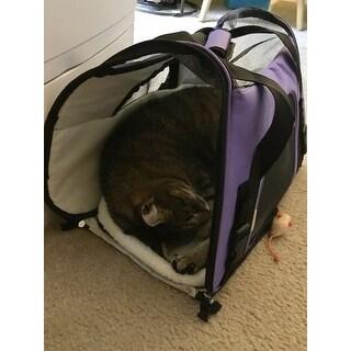 Oxgord Large Pet Carrier Soft Sided Cat Dog Comfort