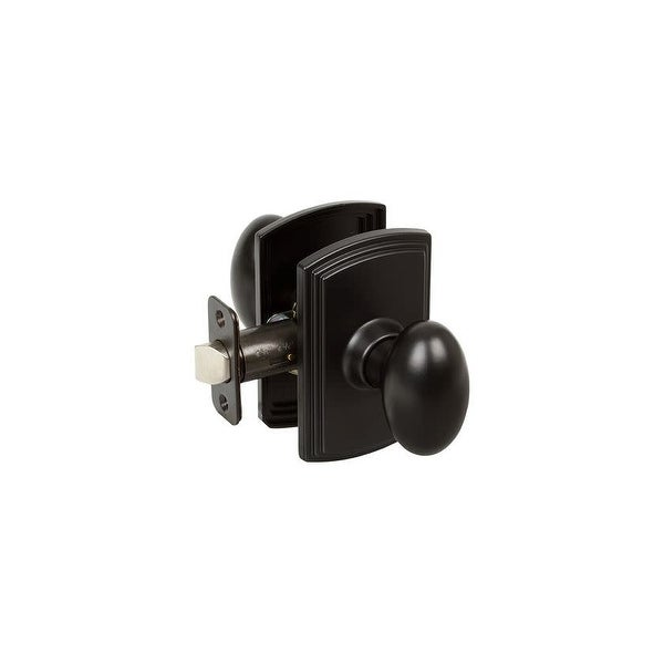 Delaney BP-100T-CN Canova Single Cylinder Keyed Entry Door Knob Set from the Italian Collection