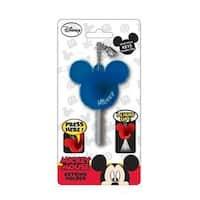 Disney Light Up Key Holder Mickey Mouse Icon Navy Blue - Multi