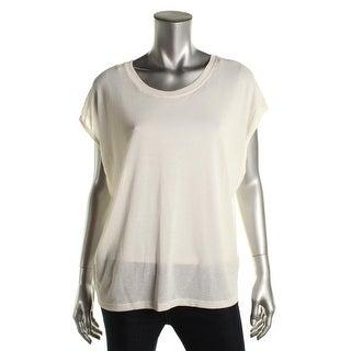 Zara W&B Collection Womens Lightweight Sleeveless Pullover Top - L