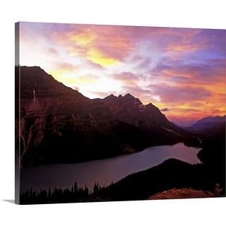 """Peyto Lake, Banff Nationalpark, Canada"" Canvas Wall Art"