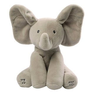 "Flappy The Elephant Animated Plush Figure, 12"" - multi"