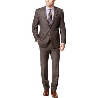 Michael Kors Mens Two-Button Suit Classic Fit 2PC