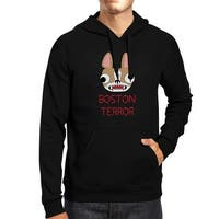 Boston Terror Terrier Black Halloween Hoodie Fleece Dog Mom Outfits