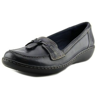 Clarks Ashland Bubble N/S Round Toe Leather Loafer