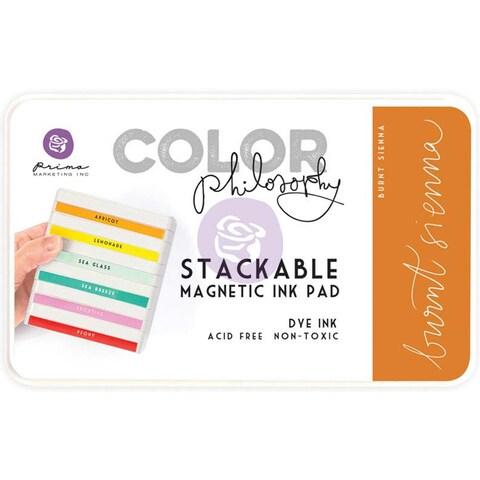 Prima Marketing Color Philosophy Dye Ink Pad-Burnt Sienna