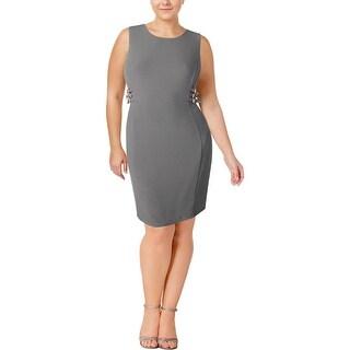 Modamix Womens Wear to Work Dress Daytime Knee Length