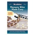 Beadalon Instructional Booklet, Memory Wire Made Easy By Katie Hacker - Thumbnail 0