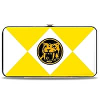 Diamond Yellow Ranger Saber Toothed Tiger Coin Hinged Wallet - One Size Fits most