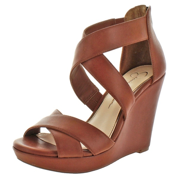 Jessica Simpson Jadyn Women's Strappy Wedge Sandals