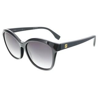 Fendi FF0043S 064H Black/Matte Black Cat Eye sunglasses