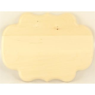 "1 Pc, Thin Monogram Basswood Plaque 7 "" X 5 "" Easy To Paint, Stain Or Decoupage"