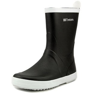 Tretorn Wings Women Round Toe Synthetic Black Rain Boot