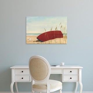 Easy Art Prints June Erica Vess's 'Seaside Dunes II' Premium Canvas Art