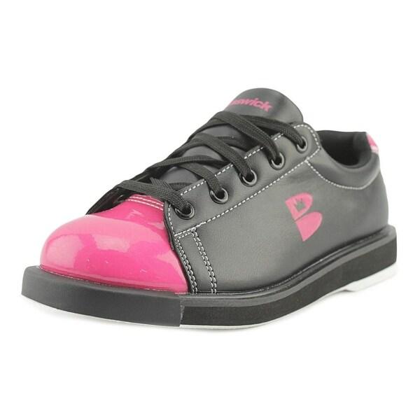 Brunswick TZone Women Round Toe Synthetic Black Sneakers