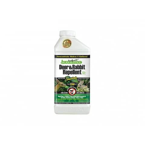 Liquid Fence HG-71136 Deer & Rabbit Repellent, Concentrate, 40 Oz