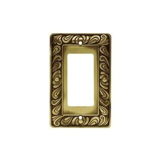 Franklin Brass 64047 Paisley Series Single Decorator Wall Plate