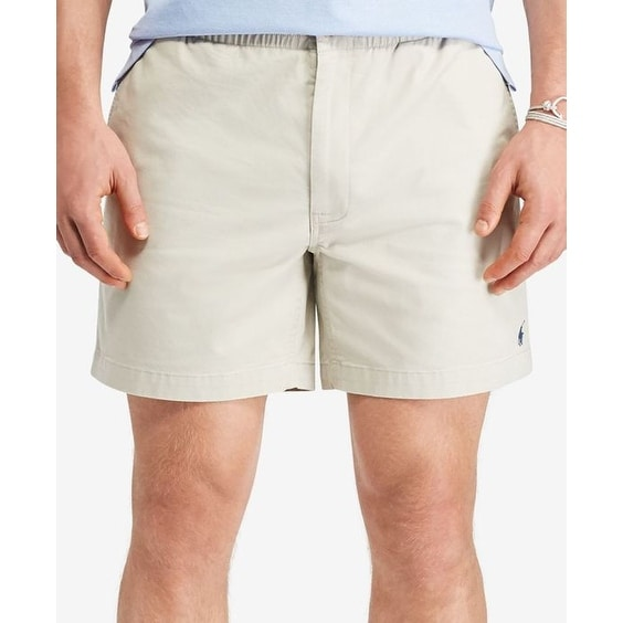 2386dac7b4 Shop Polo Ralph Lauren Men's Classic-Fit Drawstring Shorts Classic Stone  Size 2-Extra Large - Free Shipping Today - Overstock - 20528364
