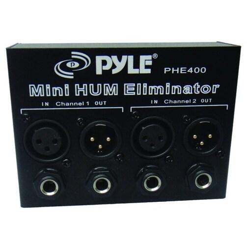 Pyle Pro Hum Eliminator 2 Ch w/XLR Jacks