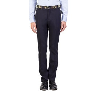 Dior Homme Virgin Wool Camouflage Waist Trouser Pants Black - 32