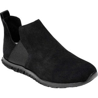 Cole Haan Women's Zerogrand Slip On Bootie Black Suede