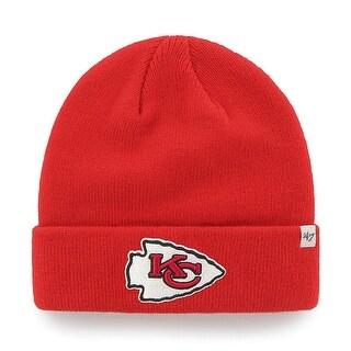 Kansas City Chiefs Raised Cuff Knit Hat