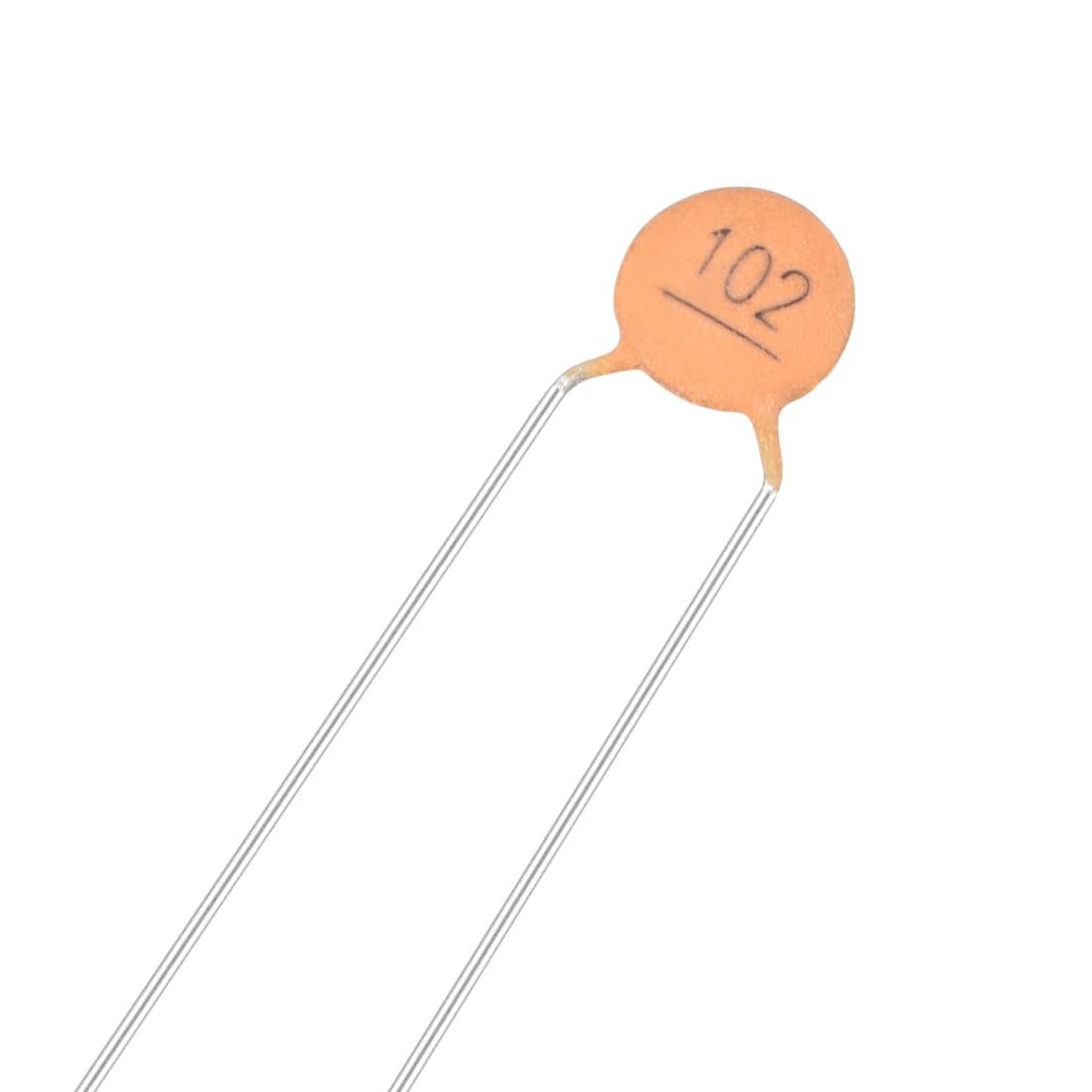10 pcs Capacitor ceramic; 100pF; 3kV; ±20/%; THT; 5mm