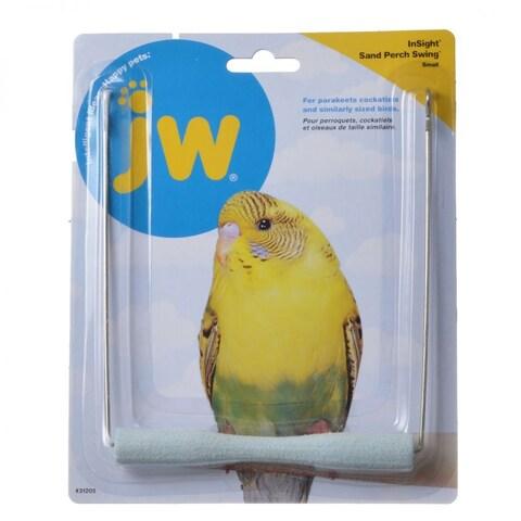 jw sm bird swing w/sand perch