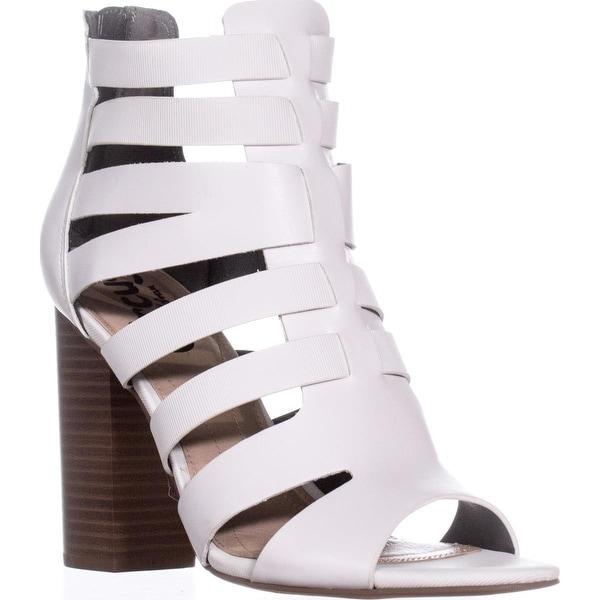 Circus Sam Edelman York Strappy Dress Sandals, White
