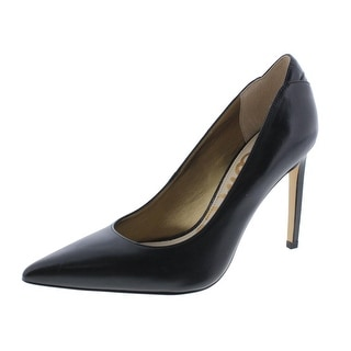 Sam Edelman Womens Dea Leather Stiletto Pointed Toe Heels - 9.5 medium (b,m)