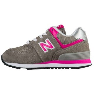 New Balance Girls ic574gp Low Top Lace Up Walking Shoes - 5.5 wgirls toddler