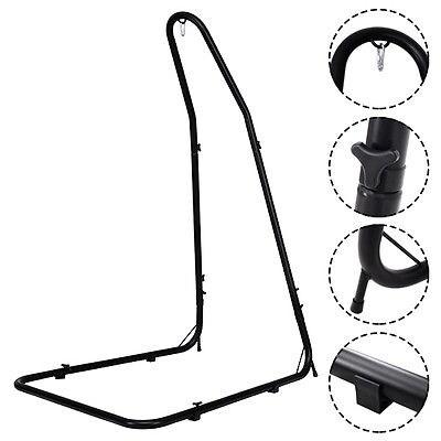 Costway Adjustable Hammock Chair Stand For Hammocks Swings & Hanging Chairs Steel Frame